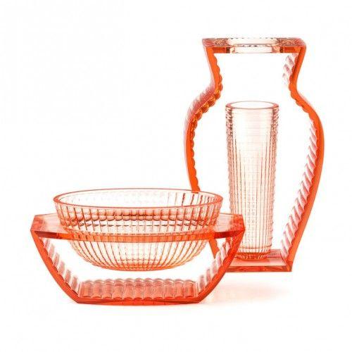 Kartell U Shine.Kartell I Shine U Shine Vase Orange Vases Decor