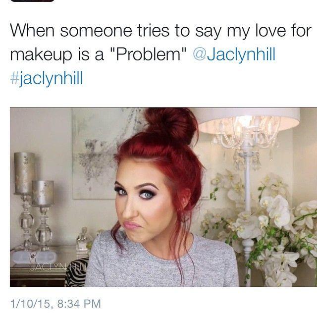 dbdd3d2ec94d5b4505a502dd627dc1d5 jaclyn hill funny pinterest makeup, humor and hair coloring