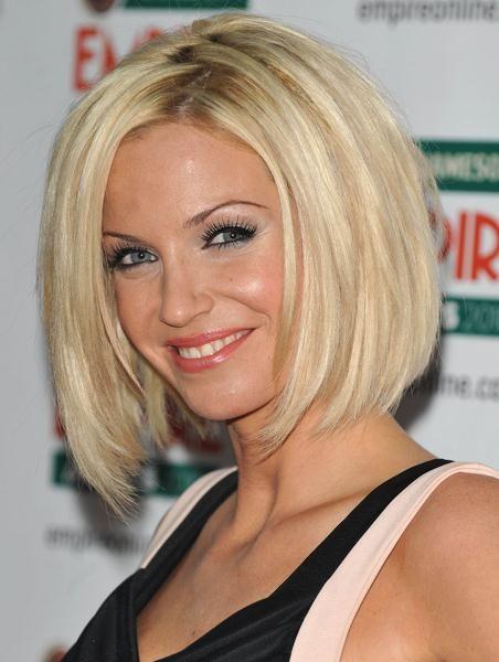 Blonde Short Bob With Long Bangs 355c6 Women Volume Blond Long