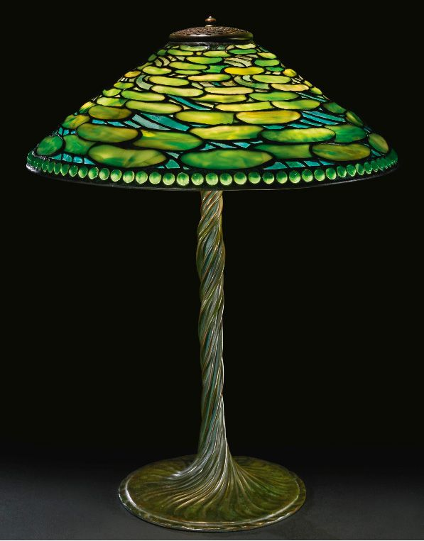 Tiffany Studios Lily Pad Table Lamp Sotheby S Lot 241 Sold For