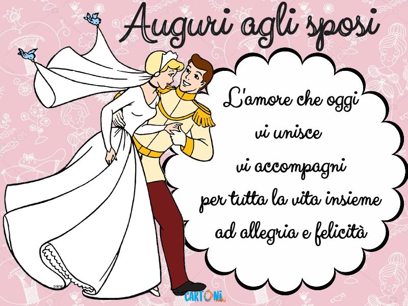 W Gli Sposi I Miei Auguri Affinche Cartoni Animati Matrimonio Divertente Spose Matrimonio