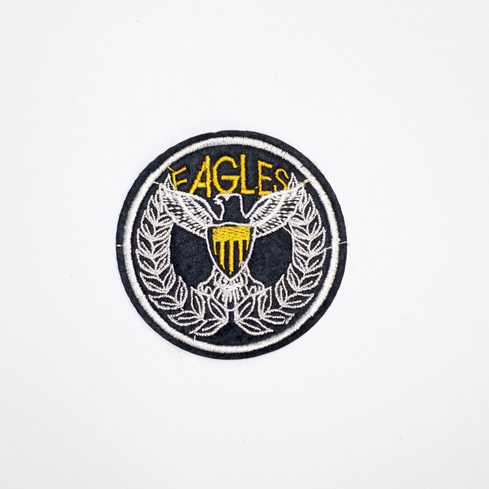 Eagles Round Badge Embroidery Applique Patch Sew Iron Badge Iron On