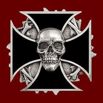 Iron cross Skull | ☠SKULLS☠ | Skull, Skull tattoos, Skull art