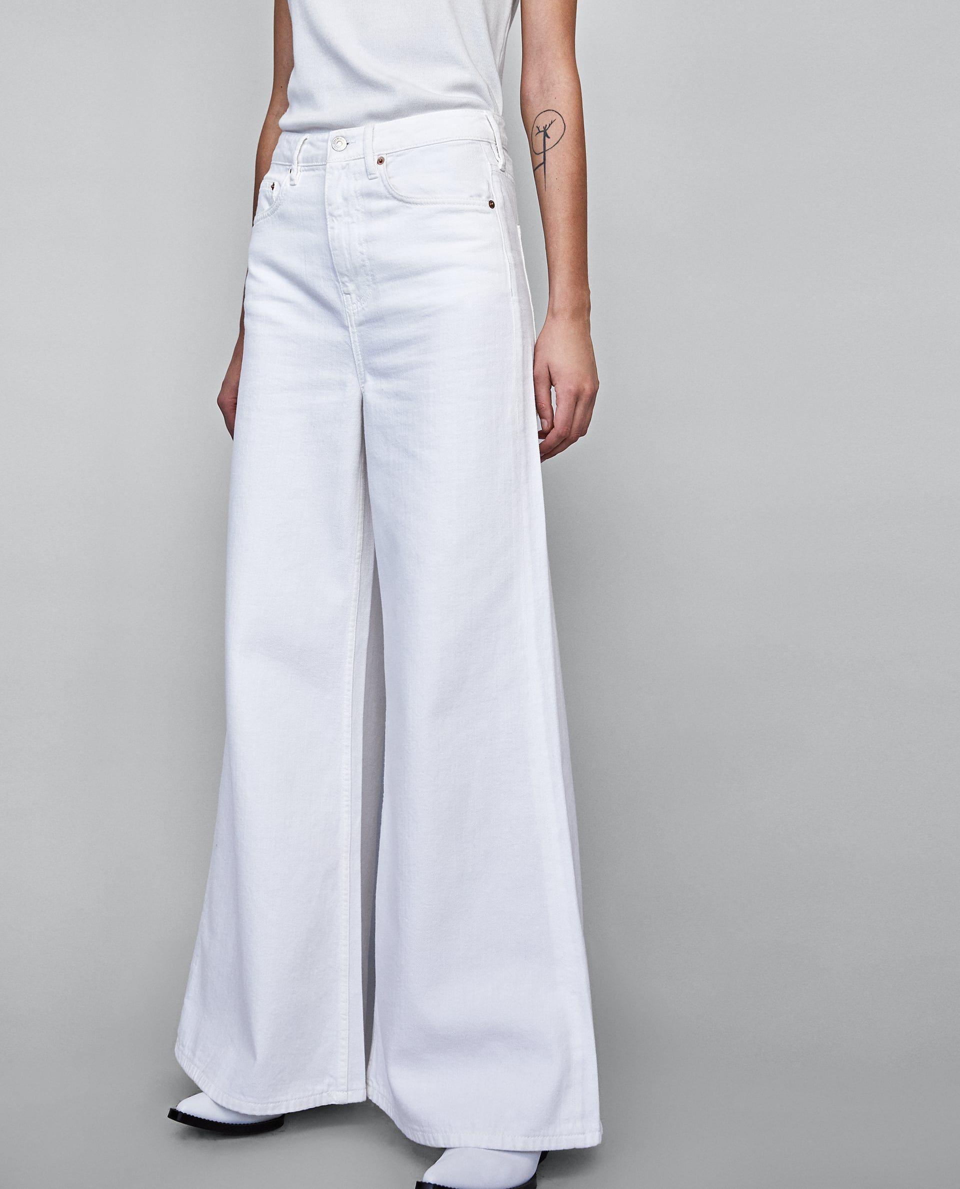 Vintage Yuksek Bel Ispanyol Paca Jean Zara Flare Jeans Fashion