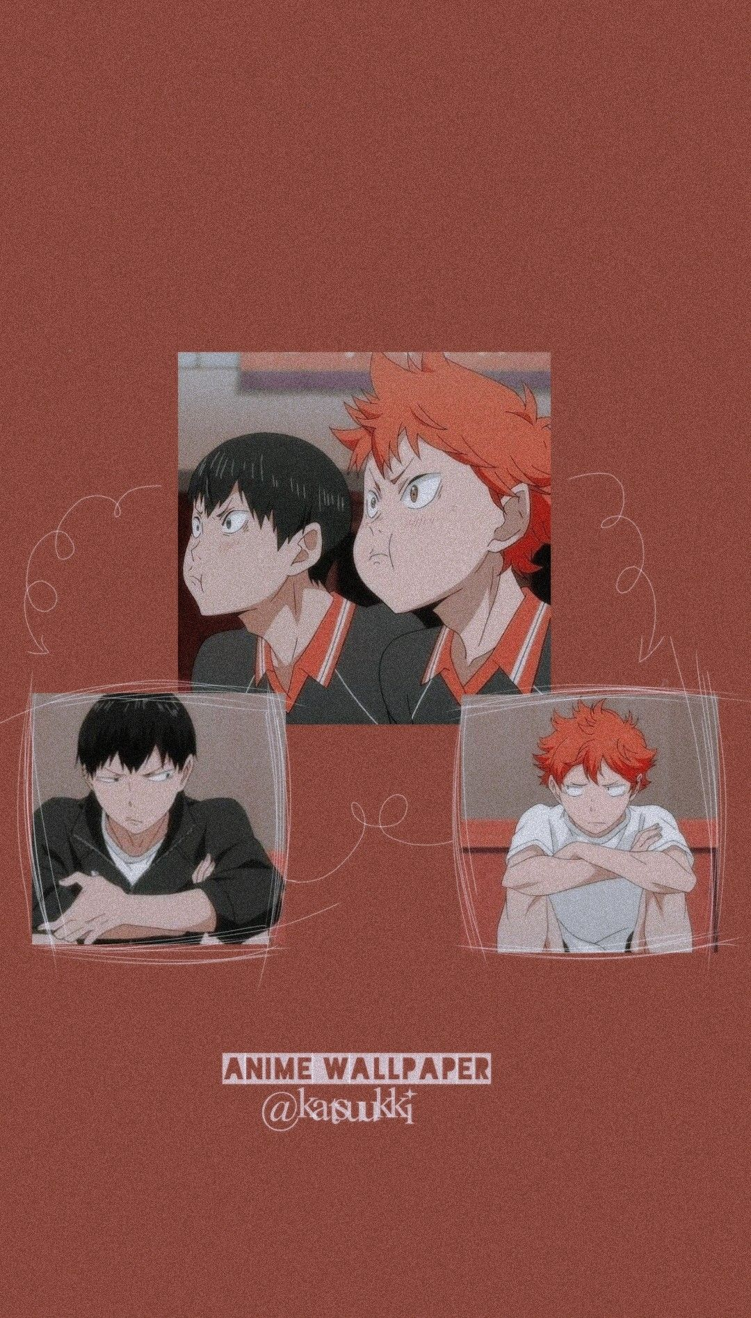 Kagehina Aesthethic Wallpaper In 2020 Haikyuu Anime Cute Anime Wallpaper Anime Wallpaper