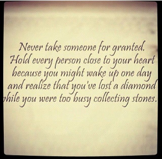 Don T Lose A Diamond While Collecting Stones