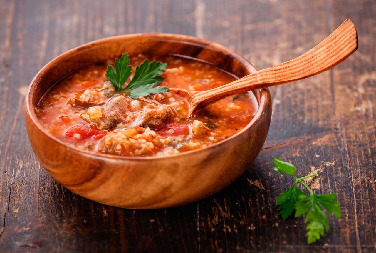 Chicken Kharcho soup: cooking recipe with photos 85