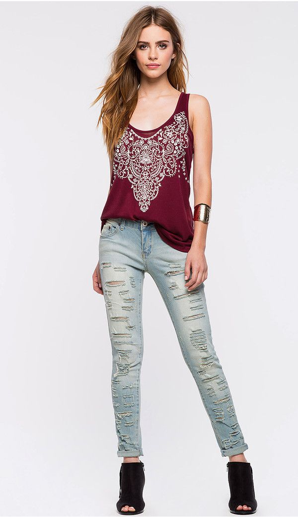 8db7dce71 European Sexy Printing And Hollow Out Tank | Ladies' TOP Choice ...