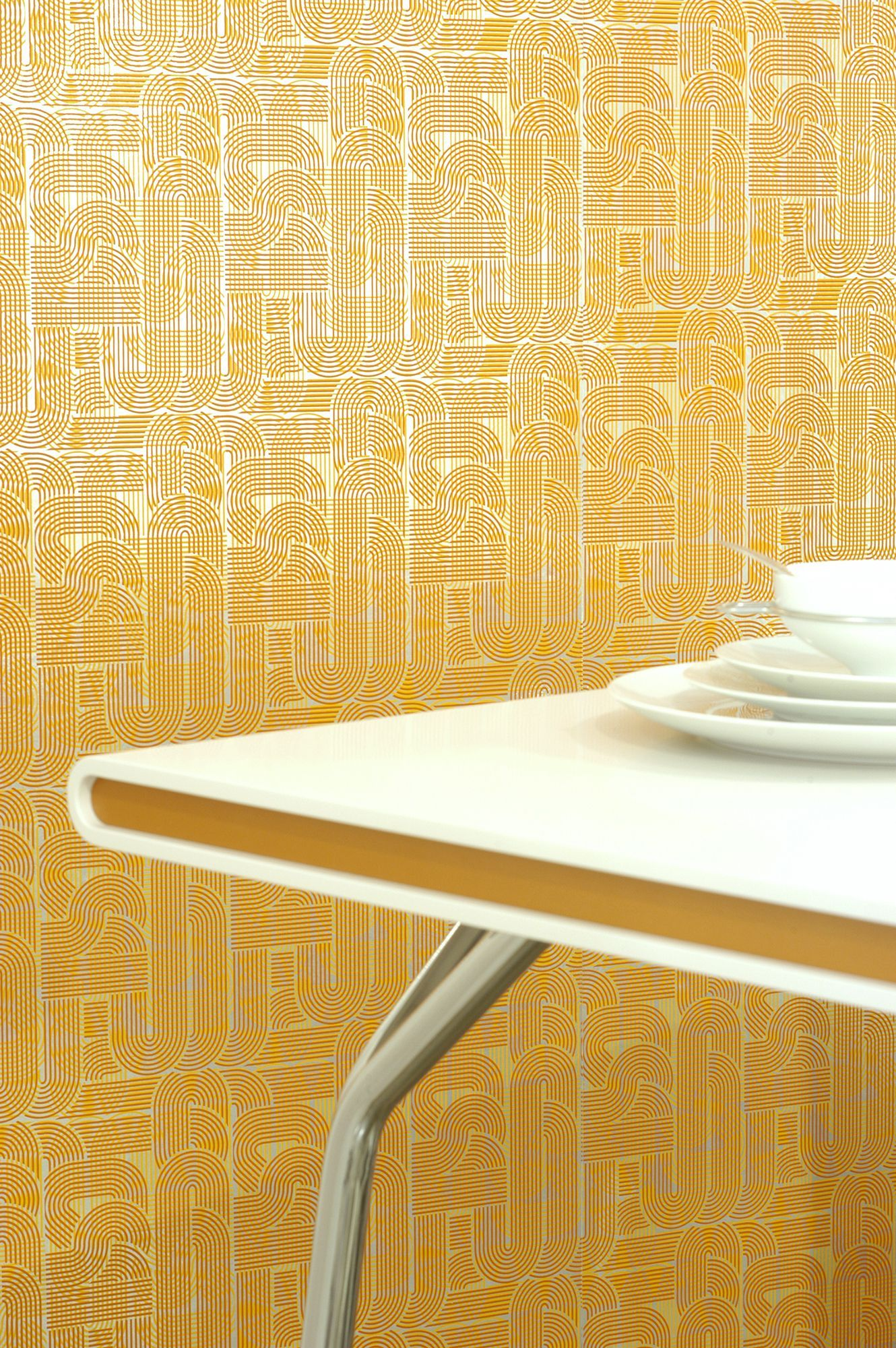 These 21 Mid-Century Modern Wallpaper Ideas Are So Retro Glam   Mid ...