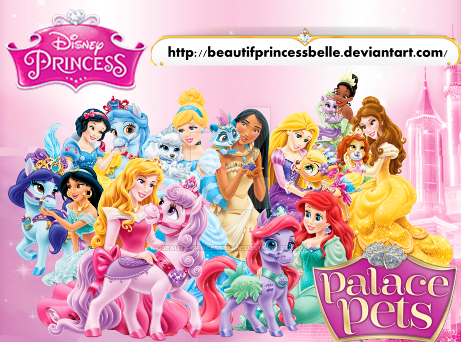 Disney Princesses Palace Pets Cuteness By Beautifprincessbelle