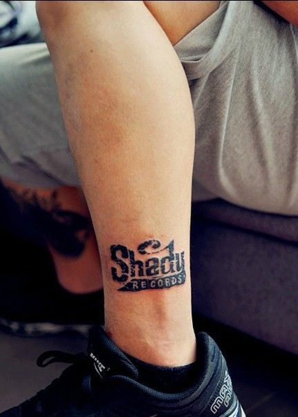 Amazing Eminem Tattoos Tattoos We Love Pinterest Tattoos - Tatuajes-eminem