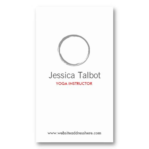 YOGA, SPA, SALON, TRANQUILITY Business Card Business cards, Card - medical business card templates