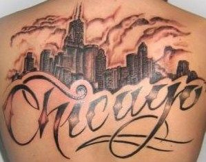 Pin By Ericka Moyer On Tattoos Chicago Skyline Tattoo Skyline Tattoo Chicago Tattoo