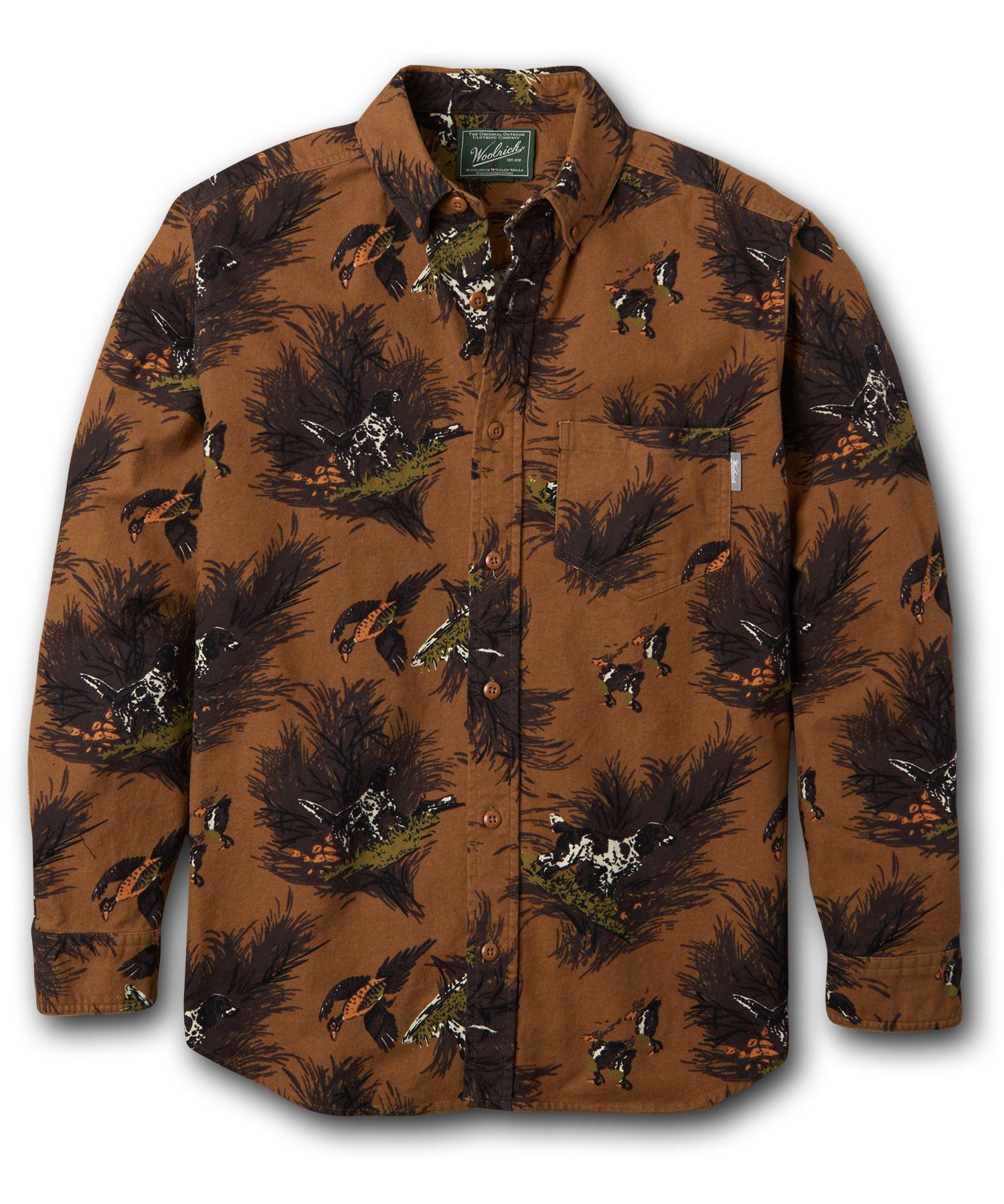 b52fd043a9b60a Men's Tiadaghton Print Chamois Shirt by WOOLRICH® The Original Outdoor  Clothing Company