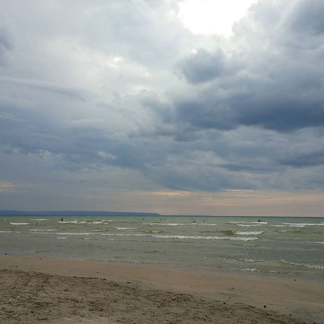 So Long To A Splendid Summer Sauble Beach In Stormy Weather Photo By Marwan