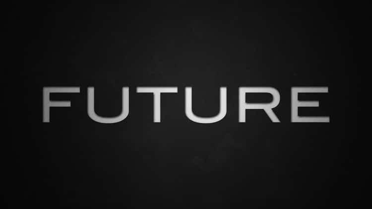 Future // Kinetic typography