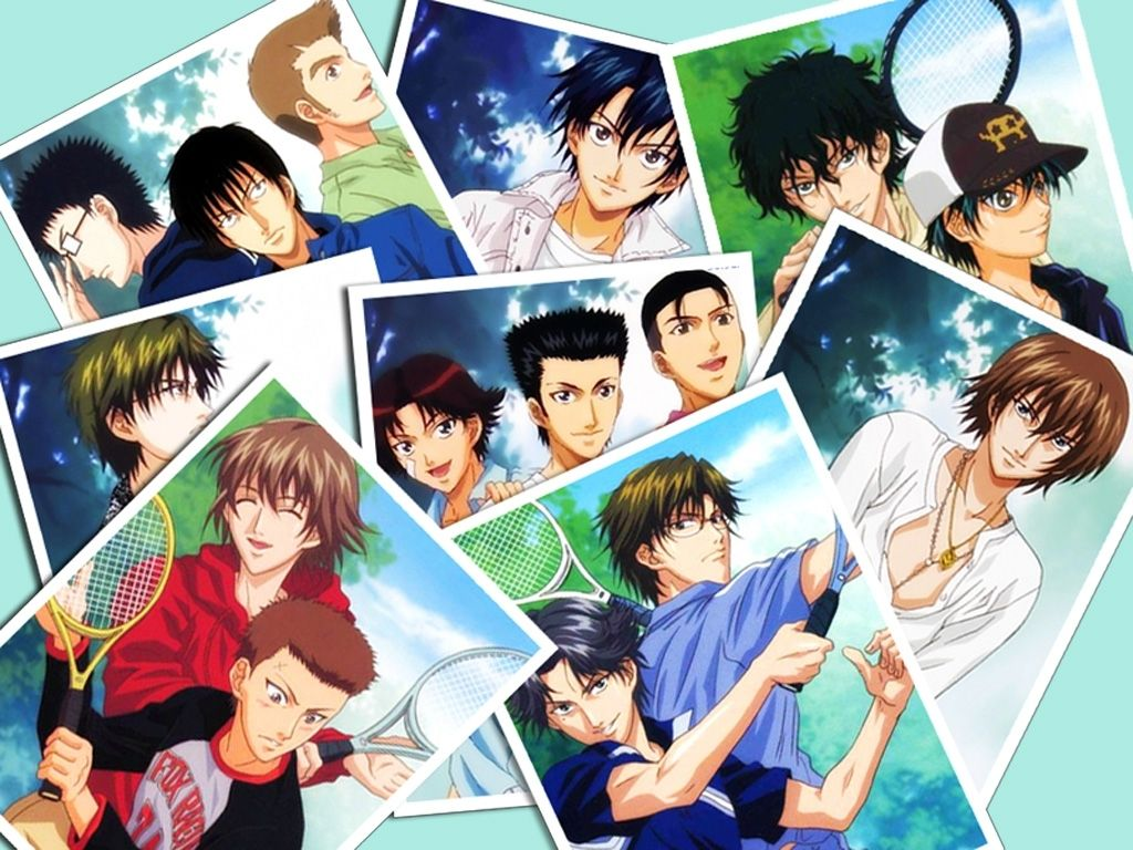 Prince Of Tennis The Prince Of Tennis Sports Anime Tennis