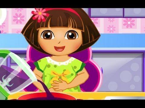 كرتون دورا الصغيرة طبخ ايس كريم دورا العاب كرتون للاطفال جديدة 2017 Disney Princess Cartoon Disney Characters