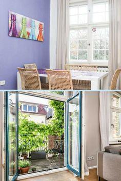 Wir lieben es bunt! Diese Wohnung beweist, wie stilvoll farbenreiches Interior sein kann.