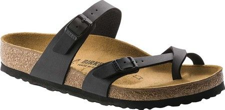 6d0955fd7f5e Women s Birkenstock Mayari Birko Flor - Black with FREE Shipping   Exchanges.  The Birkenstock Mayari Birko Flor is an essential toe loop sandal with  classic ...