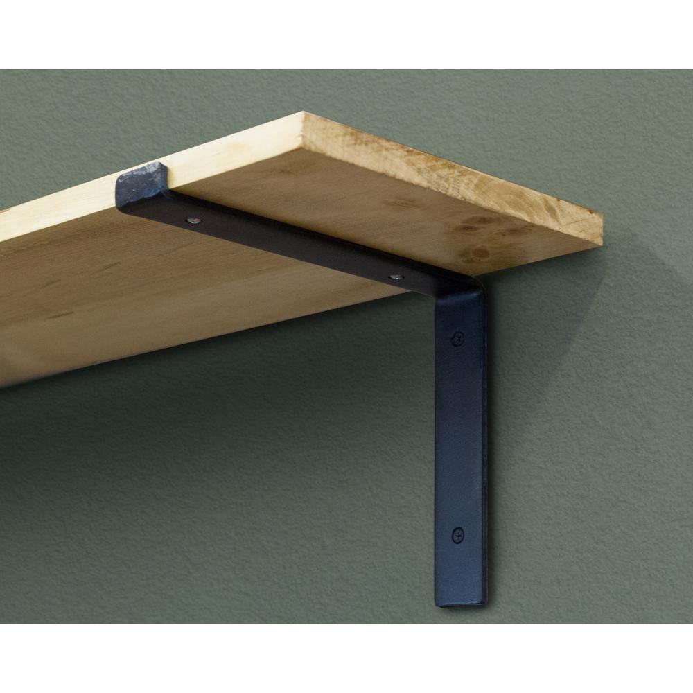 Crates u pallet in forged steel shelf bracket pallet shelves