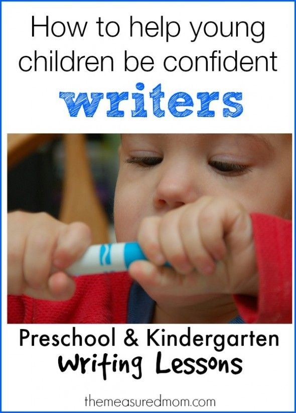 How to Help Your Child Learn to Write
