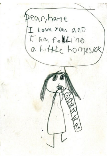 Hilariously Desperate Letters From Kids At Summer Camp  Funny