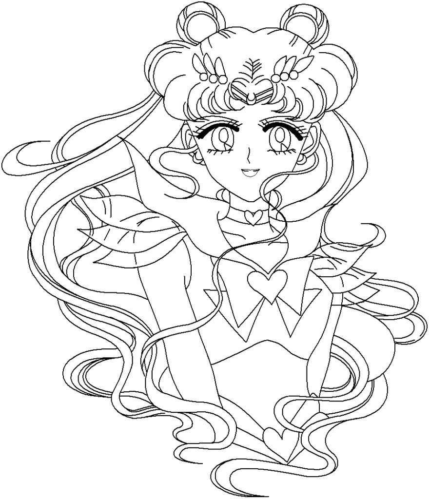 Free Printable Sailor Moon Coloring Pages For Kids Sailor Moon Coloring Pages Moon Coloring Pages Sailor Moon Tattoo