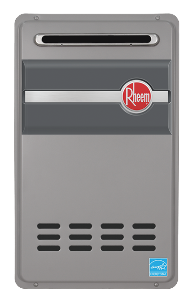Rheem RTG95XLP Outdoor Propane Tankless Water Heater