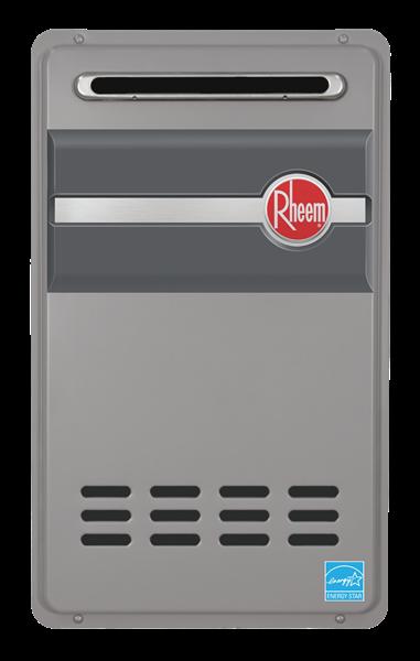 Rheem RTG95XLP Outdoor Propane Tankless Water Heater