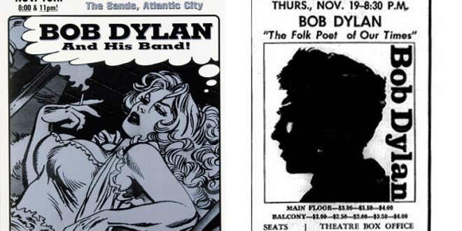 November 19 - Bob Dylan History - Concert Posters and Events