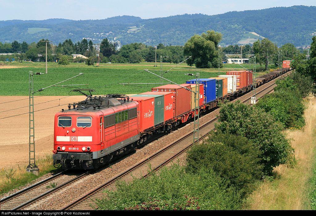 Photo 151 0510 Deutsche Bahn AG 151 at