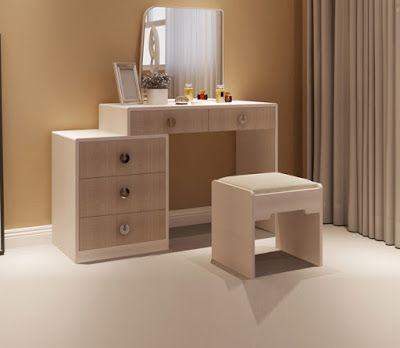 Best Modern Dressing Table Designs For Bedroom Interiors 2018 400 x 300