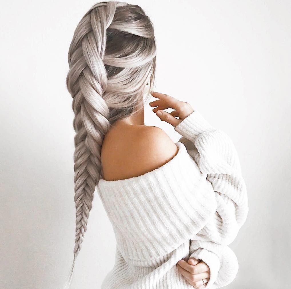 Braid goalsss emilyrosehannon shop link in bio hairstyle ideas