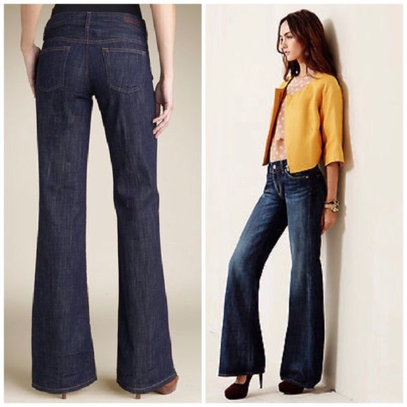 AG The Mona Wide Leg jeans | Beautiful, Flare and The o'jays