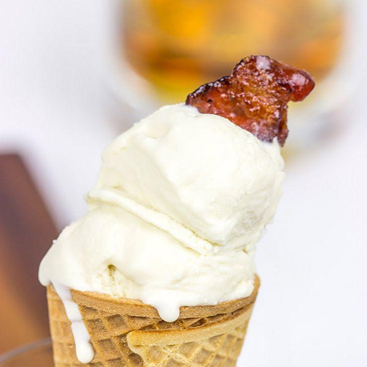 Maple Bourbon Ice Cream