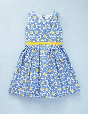 edcc9fc64a5 Vintage Dress via Mini Boden (blue   yellow)