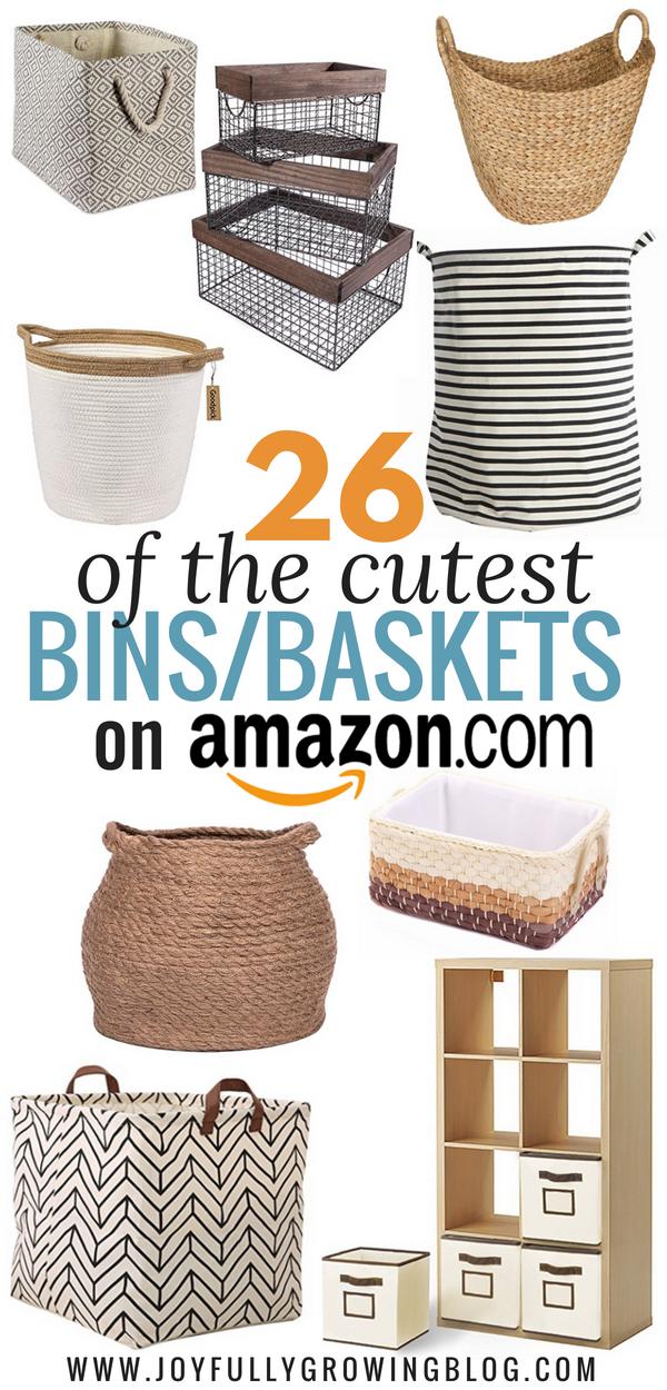 Storage Bins On Amazon That Make You Want To Organize Storage
