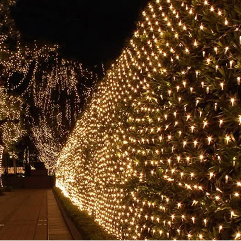 Led String Net Light 220v 4m 6m 750 Leds Waterproof Outdoor Decorative  Lights Holiday Christmas