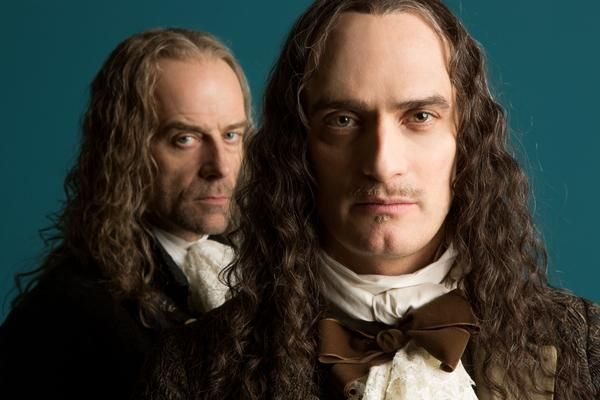 Montcourt played by Anatole Taubman and Cassel played by Pip Torrens     Montcourt played by Anatole Taubman and Cassel played by Pip Torrens