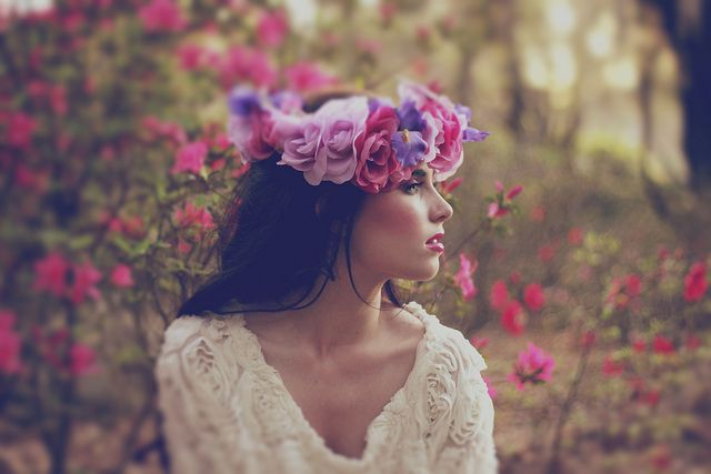 ❀ Flower Maiden Fantasy ❀ beautiful art fashion photography of women and flowers - Bunny Jenny