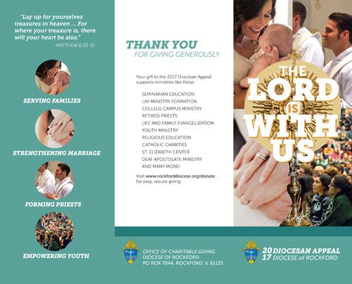 Charitable Giving Diocese Of Rockford Annual Appeal