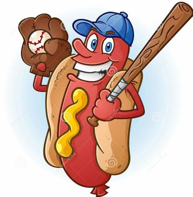 Funny Hot Dog Drawing Hot Dogs Cartoon Dog