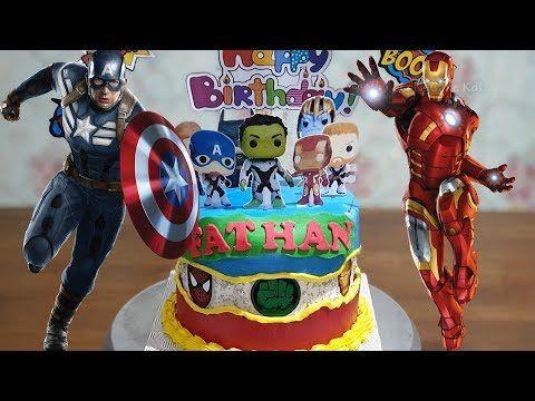 20 Dekorasi Kue Ulang Tahun Anak Laki Laki, Kue Ultah Superhero   Lenscake Kdi