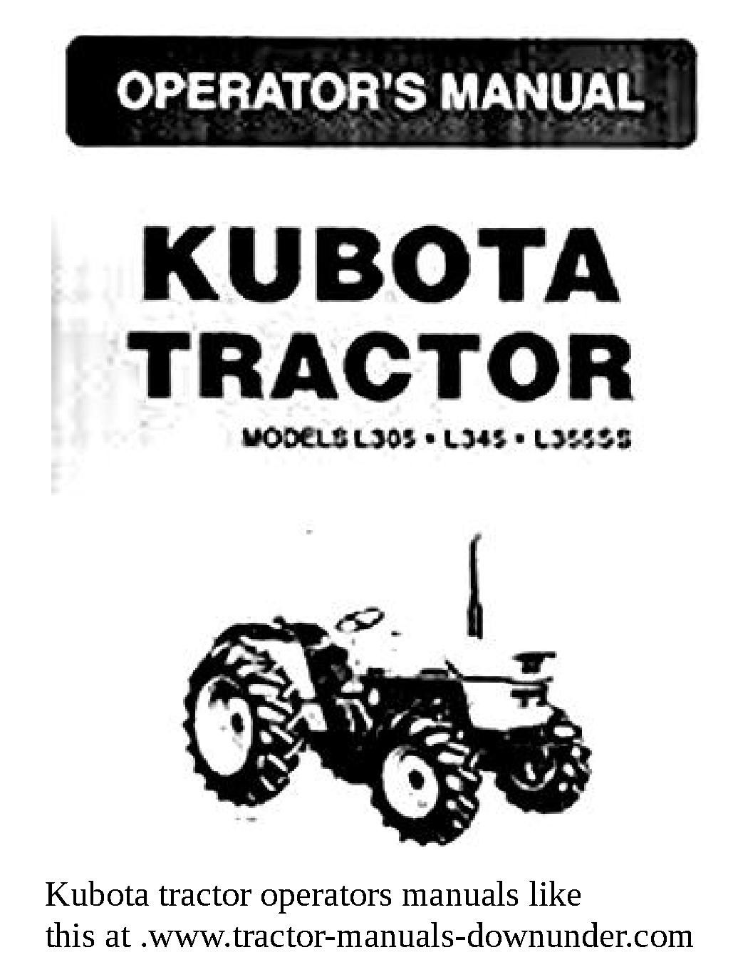 Pin by Tractor manuals dowunder on Kubota tractor manuals to download |  Pinterest | Kubota tractors and Tractor