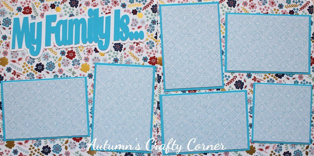 Premade Scrapbook Pages by Autumn's Crafty Corner image by ...