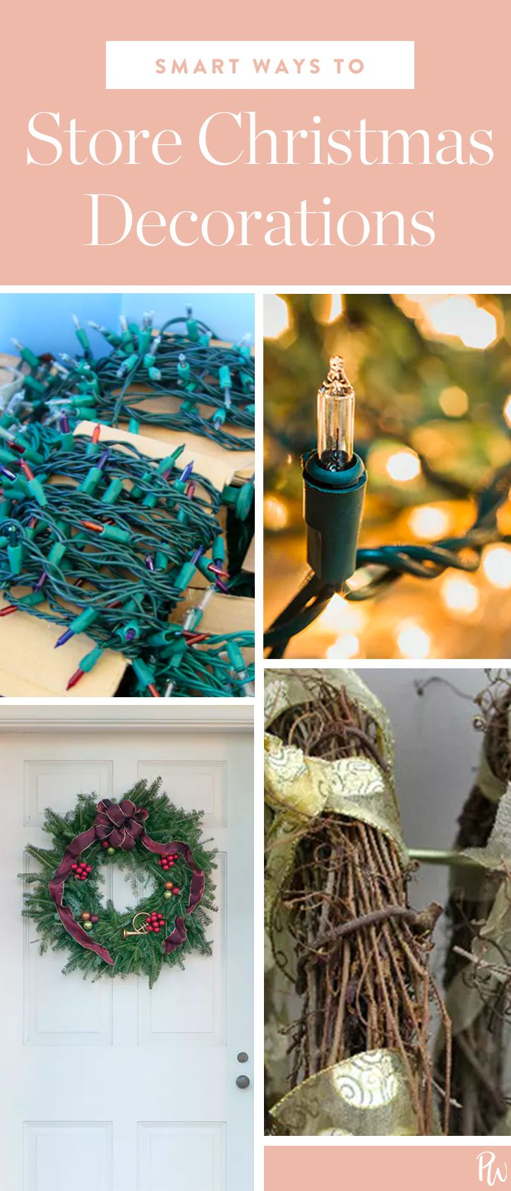 Here Are The Easiest Ways To Your Christmas Decorations Get All Tips Christmasdecorations Holidaydecor Storage