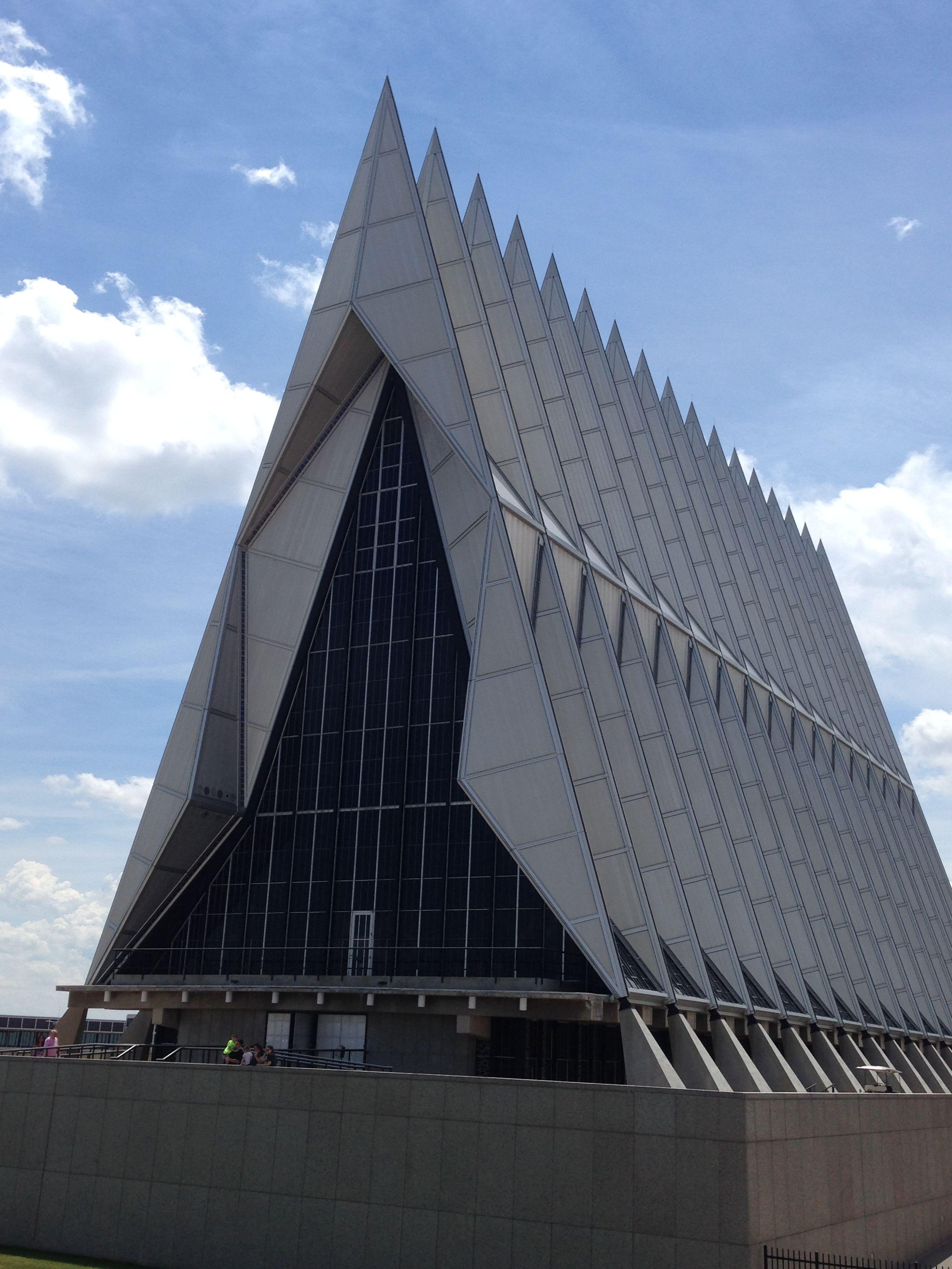 Air Force Academy Chapel, CO Air force academy