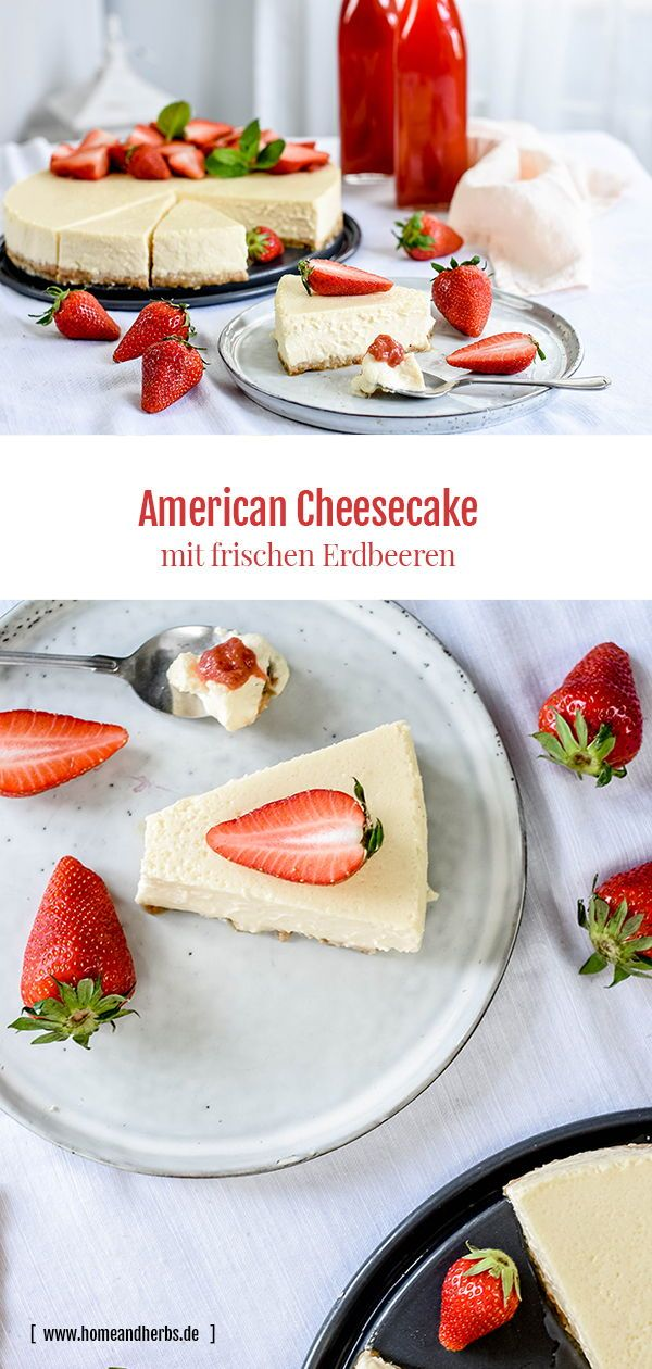 American Cheesecake - Home and Herbs