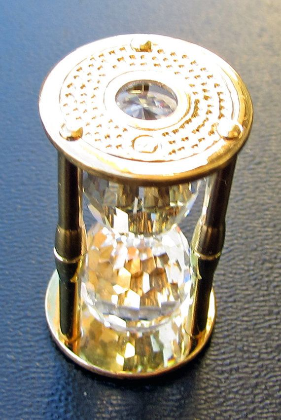 Swarovski Crystal Memories Hour Glass by Fraservalleyjewels